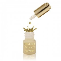 EXCLUSIVE Suero Diamante, Oro y Perlas. 8 unids x 5 ml.